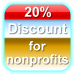 20 Percent Discount For Educational Institutions and Nonprofit Organizations