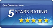 5 stars award by GearDownload.