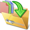 Compress Files Functionality Icon