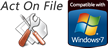 Act On File Windows Compatibility Seals